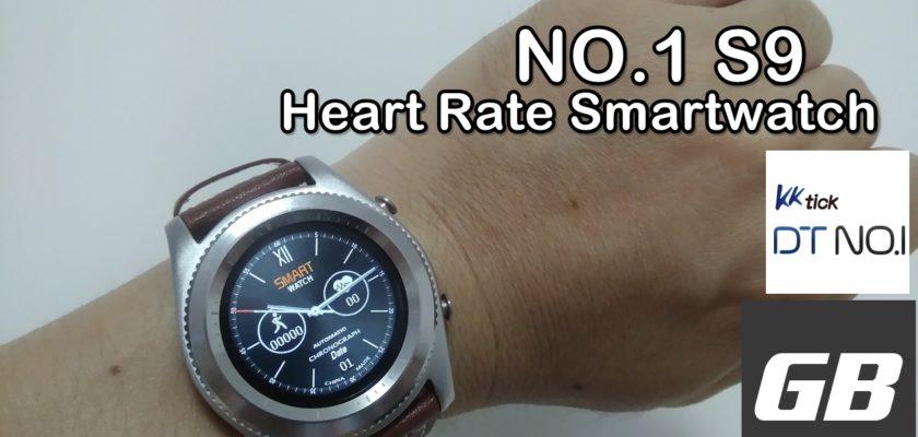 (ราคาพิเศษ) นาฬิกา DT NO.1 S9 Heart Rate Smartwatch นาฬิกาออกกำลังกาย รับสายมือถือได้