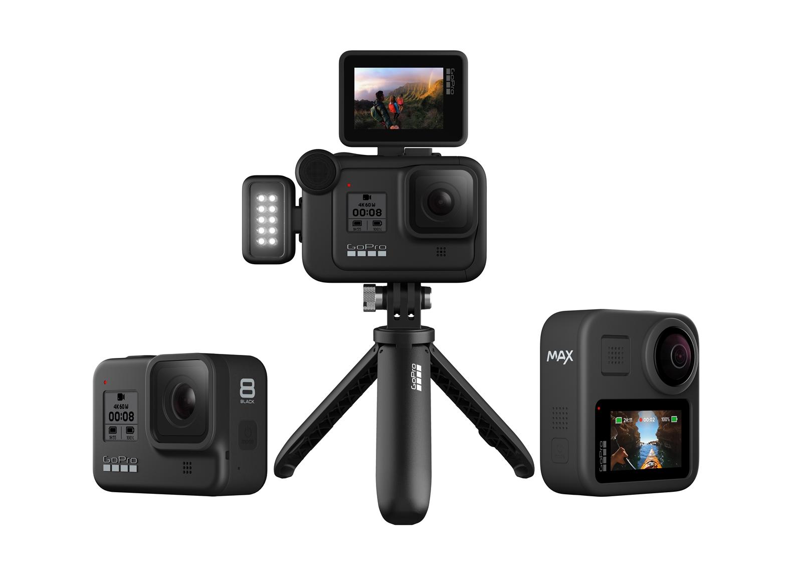 GoPro เปิดตัว GoPro HERO8 BLACK (14,500 บาท), Mods และ GoPro MAX (17,000 บาท)