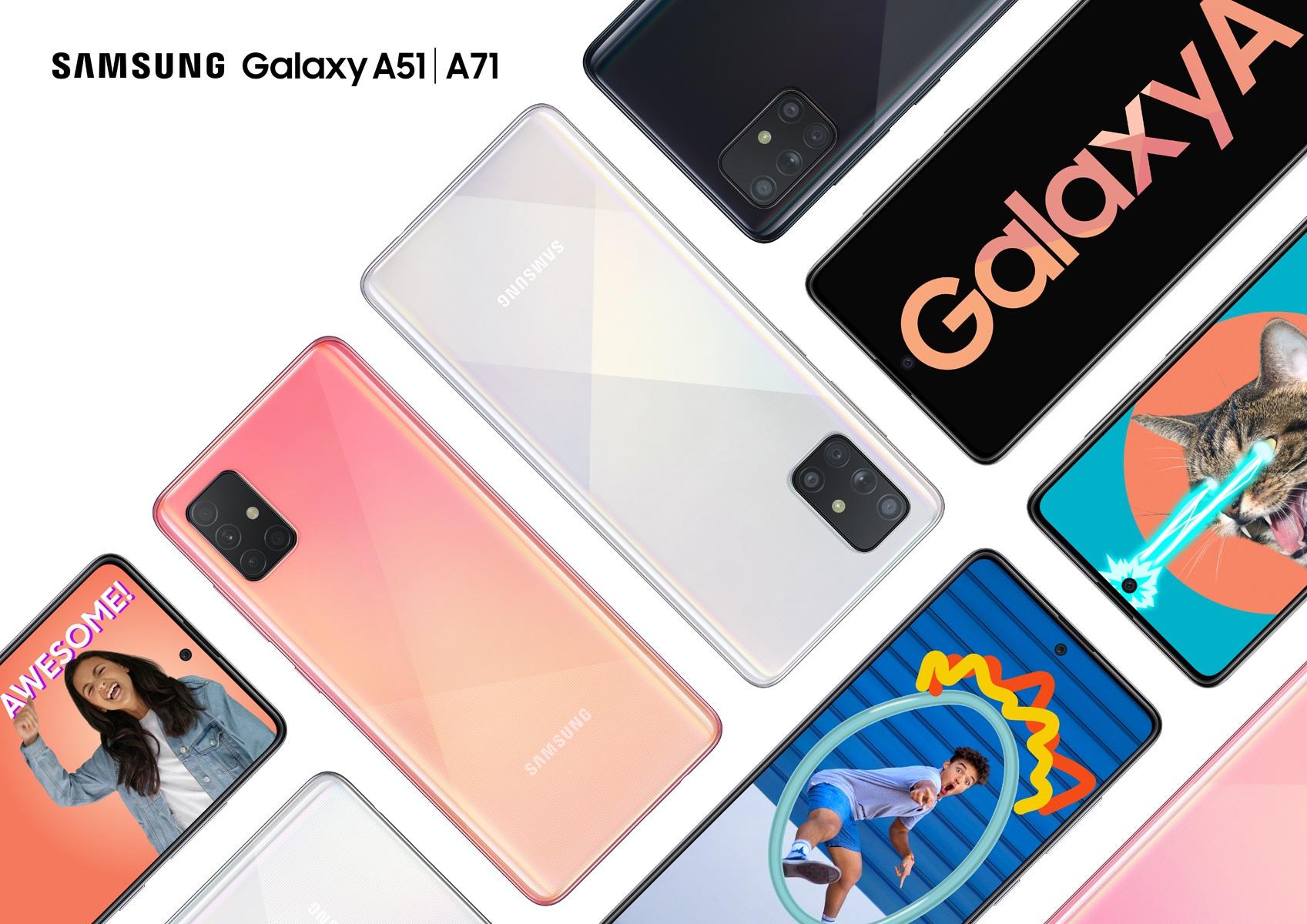 แรงตั้งแต่ต้นปี Samsung Galaxy A51 และ Samsung Galaxy A71 จัดเต็มฟีเจอร์ กล้อง-จอ-แบต สุดทุกเรื่องในเครื่องเดียว